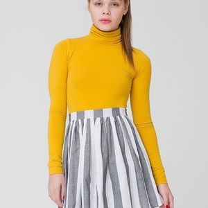 American Apparel: Striped Woven Skirt